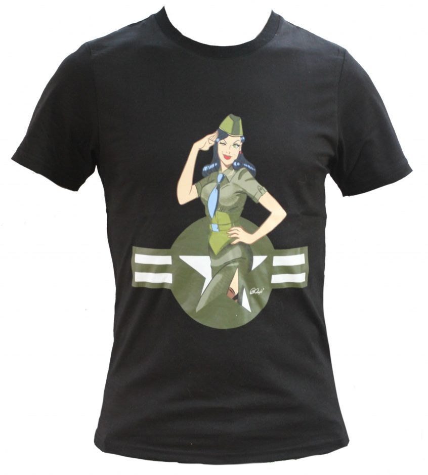Pinup Army t-shirt