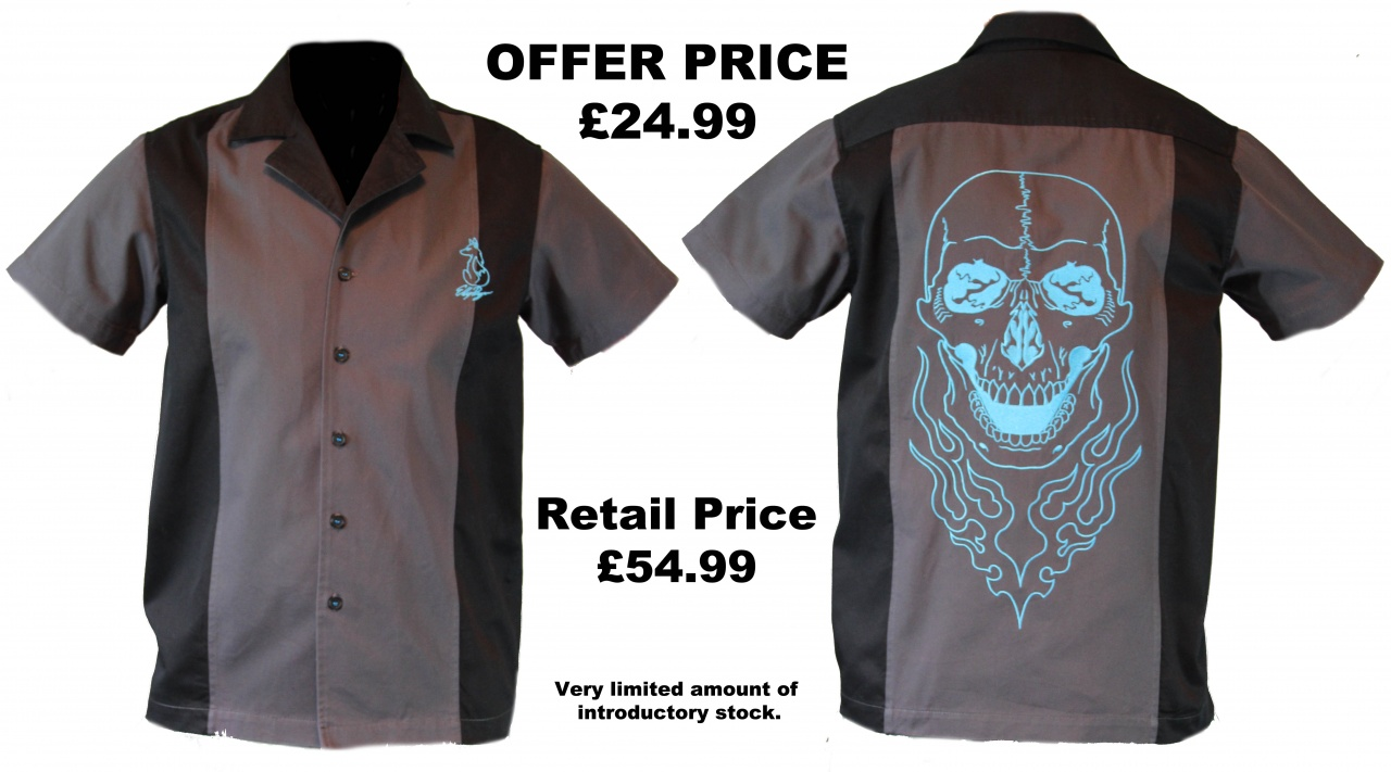 Sample Pre Sale Skull Shirt Shirtstorm Clothing